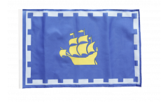 Flagge Kanada Stadt Quebec - 30 x 45 cm