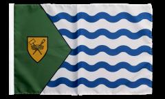 Flagge mit Hohlsaum Kanada Stadt Vancouver