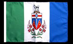 Flagge mit Hohlsaum Kanada Yukon