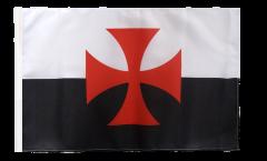 Flagge Kreuzritter Kreuz - 30 x 45 cm