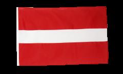 Flagge Lettland - 30 x 45 cm