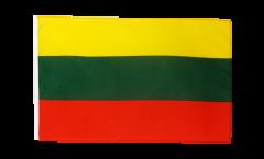 Flagge mit Hohlsaum Litauen