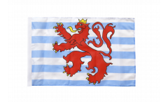 Flagge mit Hohlsaum Luxemburg Löwe