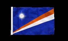 Flagge mit Hohlsaum Marshall Inseln