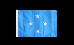 Flagge mit Hohlsaum Mikronesien