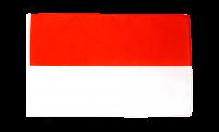 Flagge mit Hohlsaum Monaco