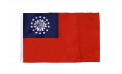 Flagge Myanmar alt 1974-2010 - 30 x 45 cm