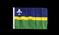 Flagge mit Hohlsaum Niederlande Flevoland