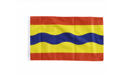 Flagge mit Hohlsaum Niederlande Overijssel