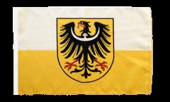 Flagge Niederschlesien - 30 x 45 cm