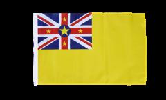 Flagge mit Hohlsaum Niue