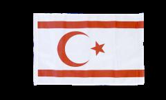 Flagge mit Hohlsaum Nordzypern