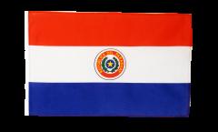 Flagge mit Hohlsaum Paraguay