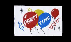 Flagge Party Time - 30 x 45 cm