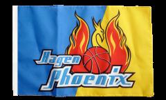 Flagge mit Hohlsaum Phoenix Hagen