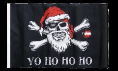 Flagge Pirat Yo ho ho - 30 x 45 cm