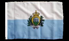 Flagge San Marino - 30 x 45 cm