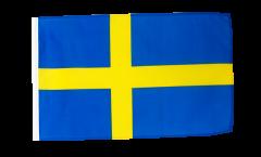 Flagge mit Hohlsaum Schweden