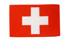 Flagge mit Hohlsaum Schweiz