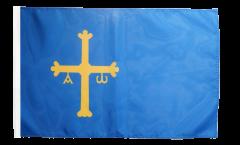 Flagge mit Hohlsaum Spanien Asturien