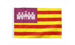 Flagge mit Hohlsaum Spanien Balearen