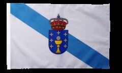 Flagge mit Hohlsaum Spanien Galicien