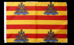 Flagge mit Hohlsaum Spanien Ibiza