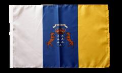 Flagge mit Hohlsaum Spanien Kanaren