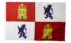 Flagge mit Hohlsaum Spanien Kastilien-Leon