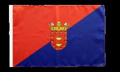 Flagge Spanien Lanzarote - 30 x 45 cm