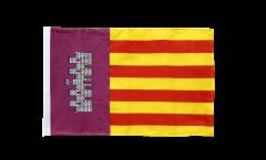 Flagge Spanien Mallorca - 30 x 45 cm
