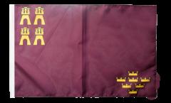 Flagge mit Hohlsaum Spanien Murcia