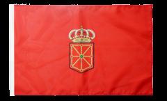 Flagge mit Hohlsaum Spanien Navarra