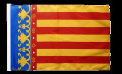Flagge mit Hohlsaum Spanien Valencia
