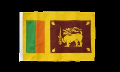 Flagge mit Hohlsaum Sri Lanka