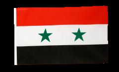 Flagge mit Hohlsaum Syrien