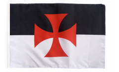 Flagge Tempelritter - 30 x 45 cm