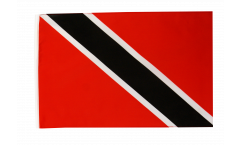 Flagge mit Hohlsaum Trinidad und Tobago