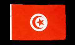 Flagge mit Hohlsaum Tunesien