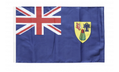 Flagge Turks- und Caicosinseln - 30 x 45 cm