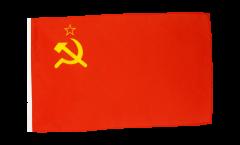 Flagge mit Hohlsaum UDSSR Sowjetunion