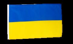 Flagge Ukraine - 30 x 45 cm