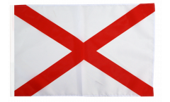 Flagge mit Hohlsaum USA Alabama