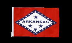 Flagge mit Hohlsaum USA Arkansas