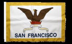 Flagge USA City of San Francisco - 30 x 45 cm
