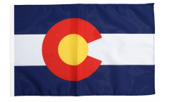 Flagge USA Colorado - 30 x 45 cm