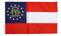 Flagge mit Hohlsaum USA Georgia