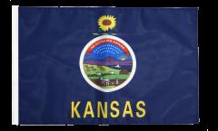 Flagge USA Kansas - 30 x 45 cm