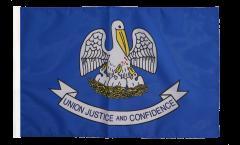 Flagge USA Louisiana - 30 x 45 cm