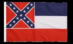 Flagge mit Hohlsaum USA Mississippi